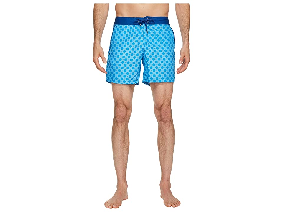 Mr. Swim Figure 8 Chuck Swim Trunks (Light Blue) Men
