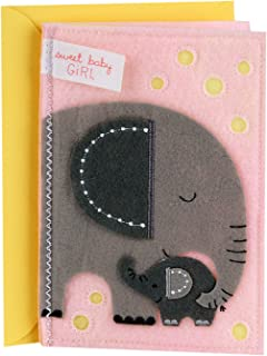 Hallmark Signature New Baby Greeting Card (Sweet Baby Girl)