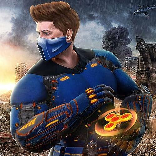 Fidget herói ninja guerreiros do caos luta revolução simulador de aventura: luta com a mente criminosa gangster de vegas em cidade sim livre