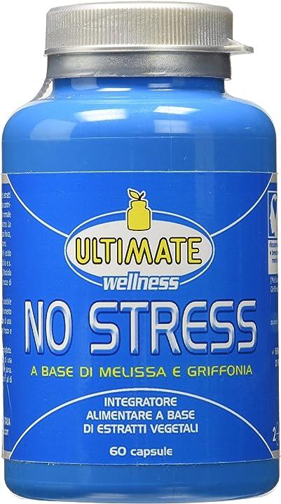Integratore no stress a base di estratti vegetali - 60 capsule ultimate italia B00IMFCOZ4