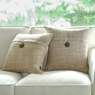 decorative pillows with buttons