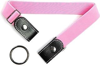 DWOY No Buckle Belts For Women and Men Comfortable Adjustable Invisible Belt Stretch Waist Belt