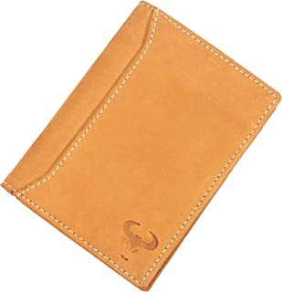 Leather Men's Wallet RFID Blocking, Front Pocket Wallet, Slim Bifold Wallet for Men, Minimalist Wallets, Sale Clearance, T...