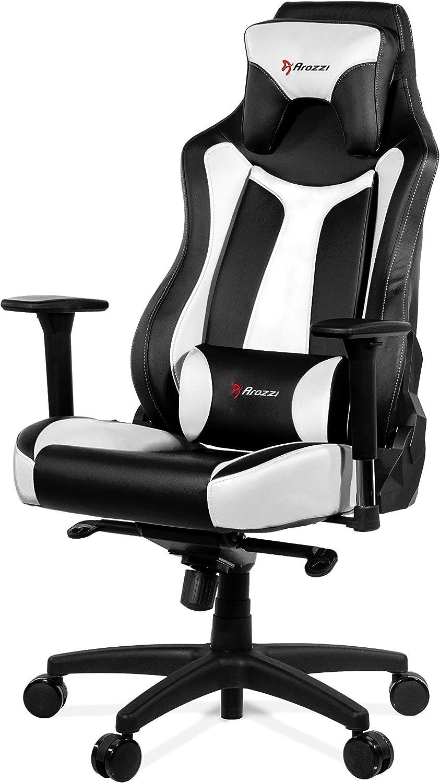 Arozzi Gaming Stuhl VERNAZZA schwarz//rot