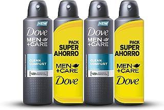 Dove Men Pack Ahorro Desodorante Clean Comfort - 2 Paquetes