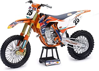 New-Ray 959-0101 Replica 1:10 Race Bike 17 KTM 450Sx-F Orange(Musquin)