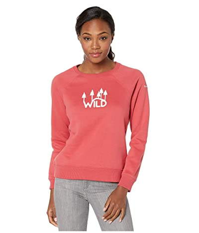 Columbia Hart Mountaintm Graphic Crew (Daredevil/Wild) Women