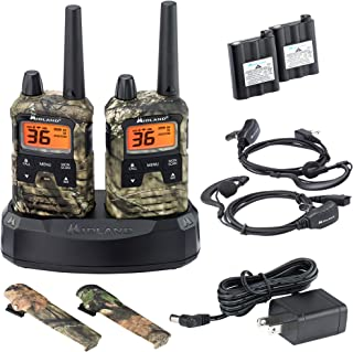 Midland - X-TALKER T295VP4, 36 Channel GMRS Two-Way Radio - Up to 40 Mile Range Walkie Talkie, 121 Privacy Codes, NOAA Weather Scan + Alert (Pair Pack) (Mossy Oak Camo)