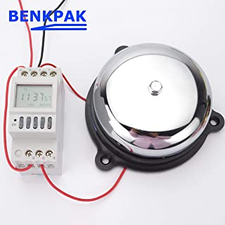 BIN BON - Micro computerized ringer controller school bell timer switch with bell