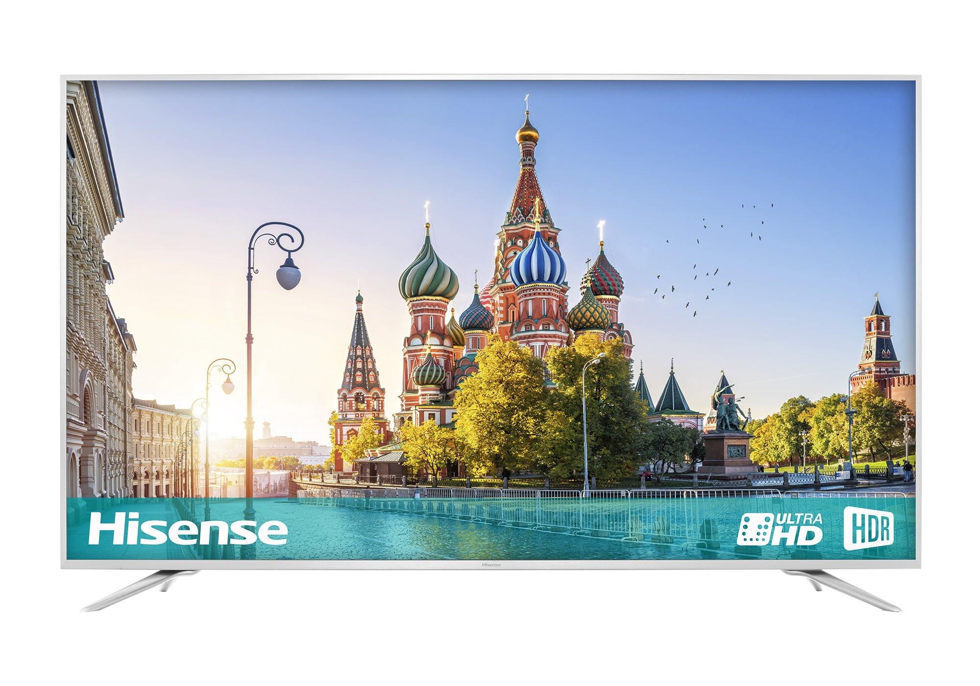 Hisense 75-h 4k Ultra HD Smart TV - Plata: Amazon.es: Electrónica