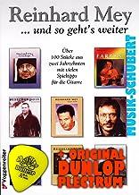Reinhard Mey y libro de juguete gawexxwdsh con púa. Más de 100 pcs 2 décadas de portada con consejos para la guitarra
