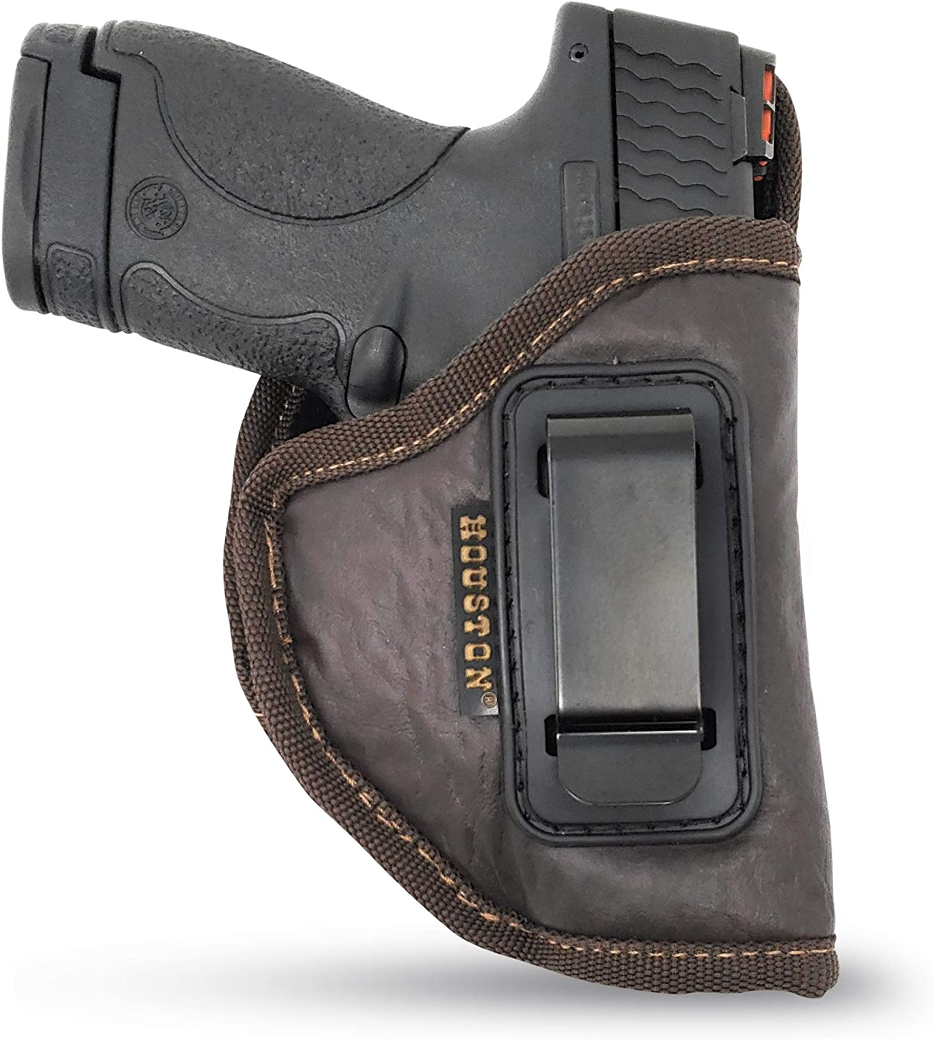 IWB Gun Holster by Houston - Soft ECO Carry Ma Concealed Inventory cleanup selling sale Leather trend rank