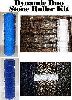 Concrete Stone Texture Roller Kit - Wall Stone & Cobble Stone