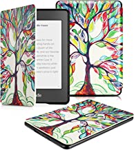 OMOTON Kindle Paperwhite Case (10th Generation-2018), Smart Shell Cover with Auto Sleep Wake Feature for Kindle Paperwhite 10th, Love Tree