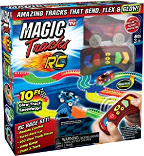 Magic Tracks MAGTRA-RCR RC Racer - Juego de Accesorios para Bicicleta, Multicolor
