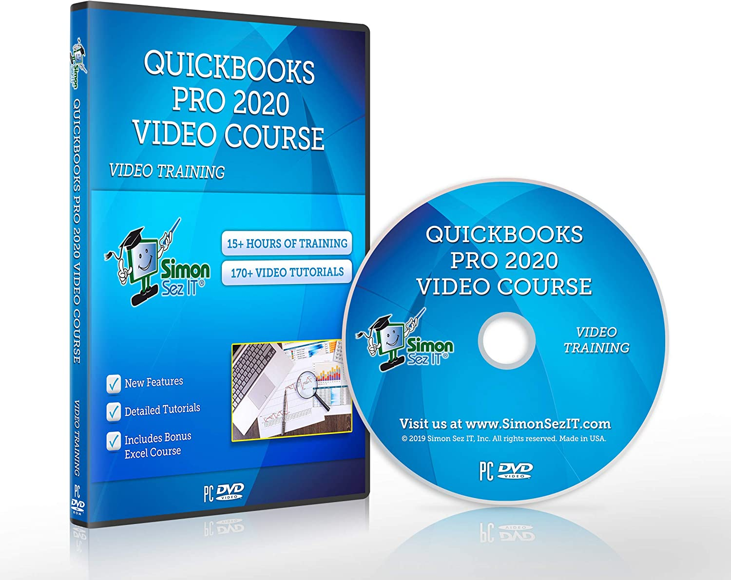 Learn QuickBooks® Pro 2020: QuickBooks free shipping Training for Max 85% OFF DVD Quick