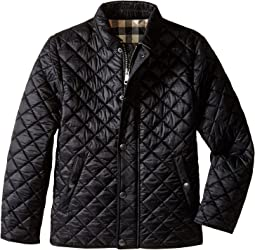 Burberry Kids Luke Diamond Quilted Jacket (Little Kids/Big Kids)