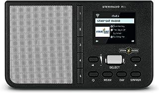 TechniSat STERNRADIO IR 1 - compacte internetradio (WLAN, kleurendisplay, wek- en slaaptimer, AUX, snooze-functie, directe...