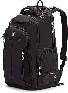 SWISSGEAR Large ScanSmart Laptop Backpack | TSA-Friendly Carry-on | Travel, Work, School | Men's and Women's - Black