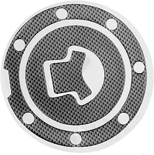 Mtsooning 1Pc Carbon Fiber Fuel Gas Cap Cover Pad Sticker Decal for Honda CBR 600RR 1000RR