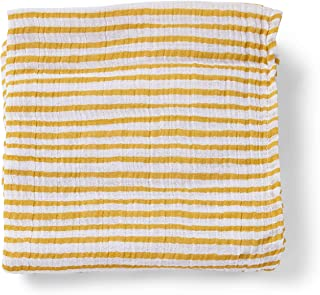 PEHR Stripes Away Marigold Muslin Mini, Multi (STPASWSM04)