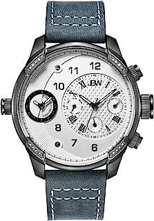 جي بي دبليو ساعة رسمية للرجال انالوج بعقارب جلد - J6325G