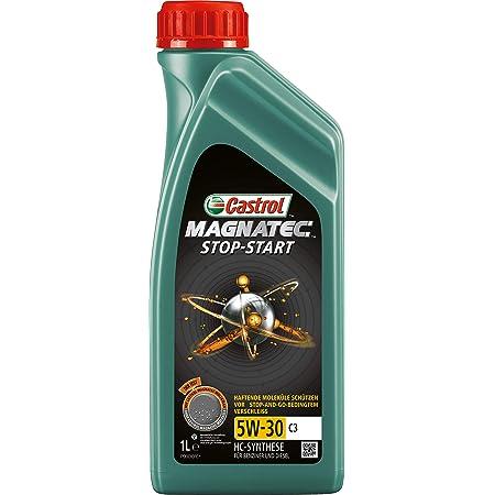 Castrol Magnatec 5w 30 C3 Stop Start Motor Oil Engine Oil 1l Green Auto