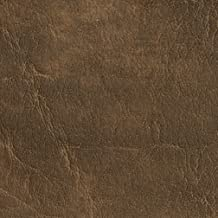 G623 Saddle Distressed Outdoor Indoor Faux Leather Upholstery Vinyl by The Yard
