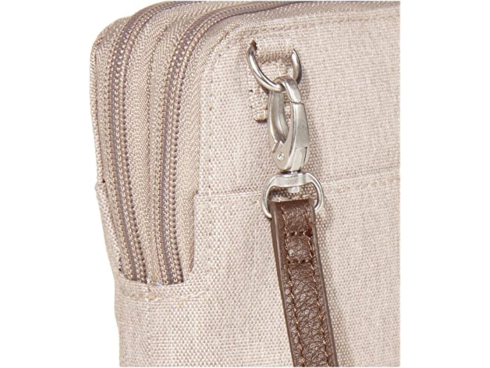 Baggallini New Classic Take Two Rfid Bryant Crossbody Sand Heritage Handbags