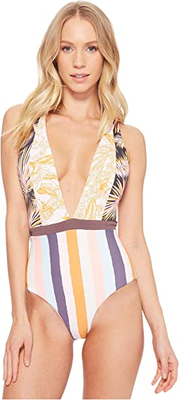 Maaji - Rainbow Jungle Regular Rise Two-Way Top