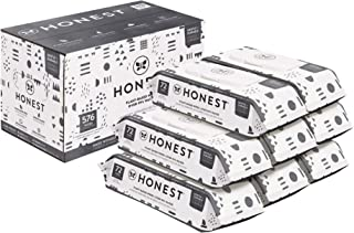 The Honest Company Baby Wipes - 576 Count | Pattern Play | Over 99 Percent Water | Pure & Gentle | Plant-Based | Fragrance...