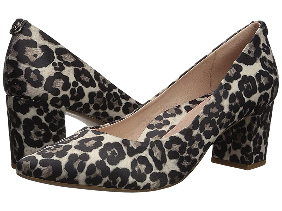 Taryn Rose Madline (Cream Printed Leopard) High Heels