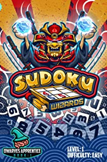 Sudoku Wizards: Sudoku Puzzle Book 1 Dwarves Apprentice (Level 1 Dwarves)