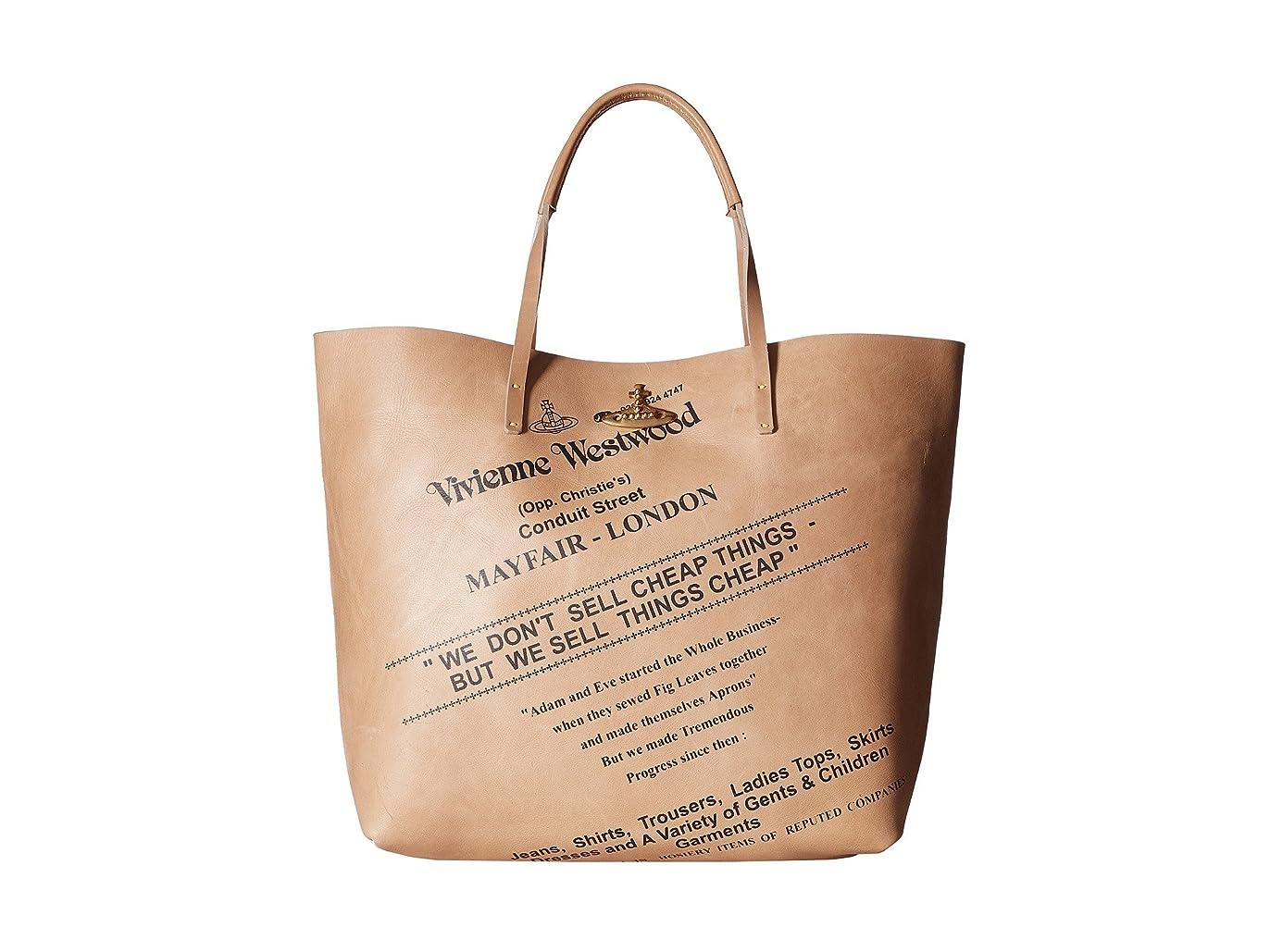 味方カロリートランスペアレント[ヴィヴィアン ウエストウッド] Vivienne Westwood メンズ Africa Sell Cheap Leather Shopper ハンドバッグ [並行輸入品]