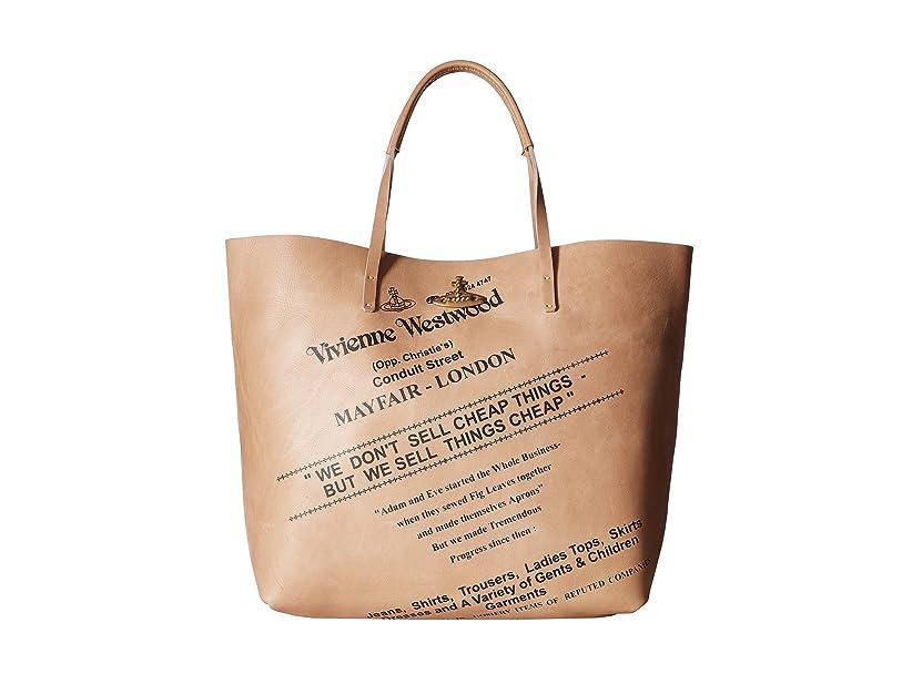 アルミニウム甲虫重さ[ヴィヴィアン ウエストウッド] Vivienne Westwood メンズ Africa Sell Cheap Leather Shopper ハンドバッグ [並行輸入品]