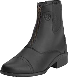 short riding boots with zip