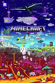 Trends International Minecraft - World Beyond Wall Poster, 22.375