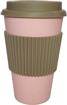 Preisvergleich für NORDAL · Coffee-to-go Trinkbecher ' BAMBOO ' wiederverwendbar 330ml · rosé