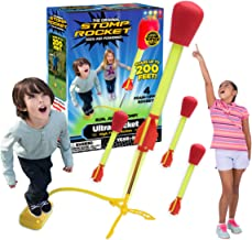 The Original Stomp Rocket Ultra Rocket, 4 Rockets - Outdoor Rocket Toy Gift for Boys and Girls - Comes with Toy Rocket Lau...