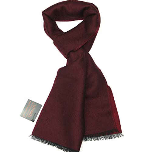 2d3277e42 Lovarzi Fine Wool Merino Scarf - Winter Scarves for Men and Women - Made in  Italy