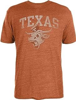 University of Texas Authentic Apparel NCAA Mens Mens Tri-Blend Tee