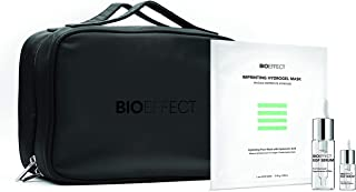 BIOEFFECT Healthy Skin Essentials Set with EGF Serum, Imprinting Hydrogel Face Sheet Mask with Hyaluronic Acid and Cosmeti...