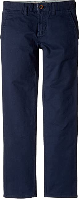 "High Tider Pants Slim Fit Stretch Twill 28"" (Big Kids)"