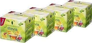 Castelló Since 1907 Edulcorante Stevia 1:8 - Paquete de 4 x 60 sobres -