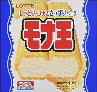 Lotte Monaou Vanilla Wafer Ice cream (5X100 ML) - Frozen