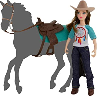 Breyer Freedom Series (Classics) Natalie Cowgirl Doll | 5 Piece Doll and Accessory Set | 1:12 Scale | Model #62025