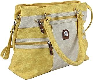 irisaa Handtasche Damen Shopper groß Schultertasche Multifunktionale Henkeltasche mit Abnehmbarem Schulterriemen Umhängeta...