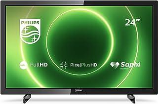 """Smart TV Philips 24PFS6805 24"""" Full HD LED WiFi Zwart"""