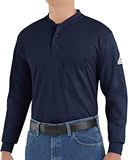 Bulwark Men's Flame Resistant 6.25 Oz Cotton Long Sleeve...