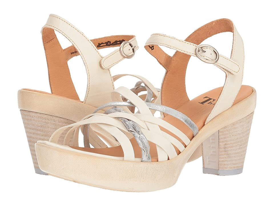 Think! Gspusal Strappy Sandal 82535 (Ivory/Kombi) Women